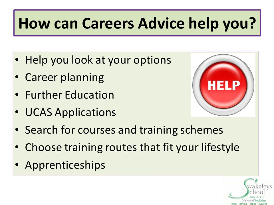 How can Careers Advice help you