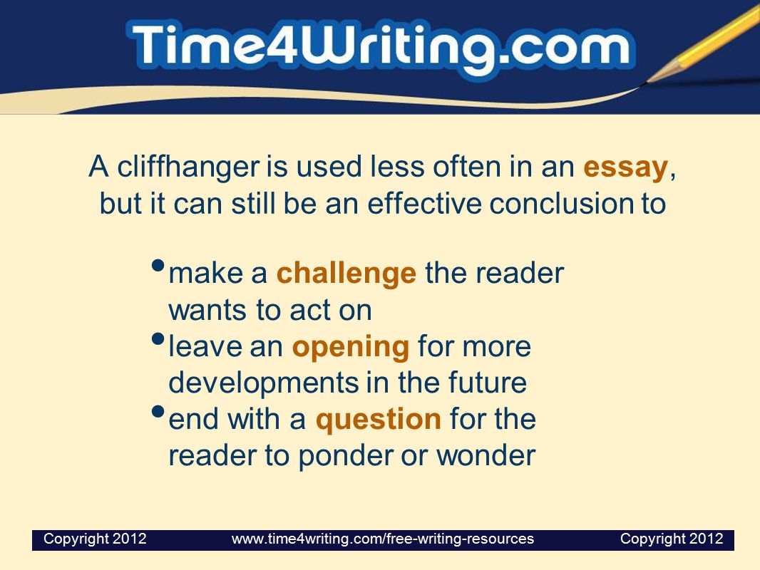 make a challenge the reader wants to act on