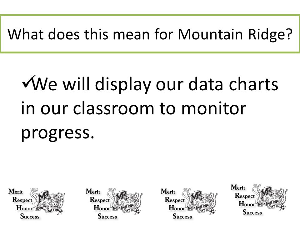 What does this mean for Mountain Ridge
