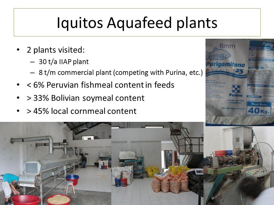 Iquitos Aquafeed plants