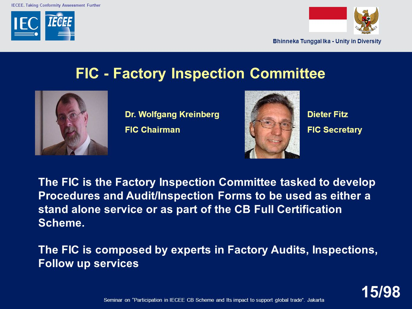 FIC - Factory Inspection Committee