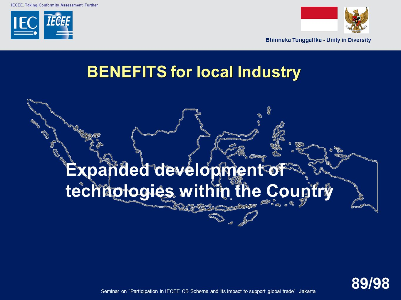Expanded development of technologies within the Country