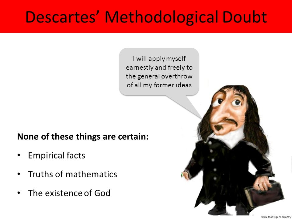 Descartes' Methodological Doubt