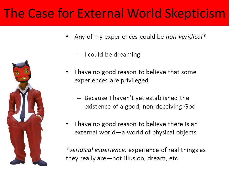 The Case for External World Skepticism