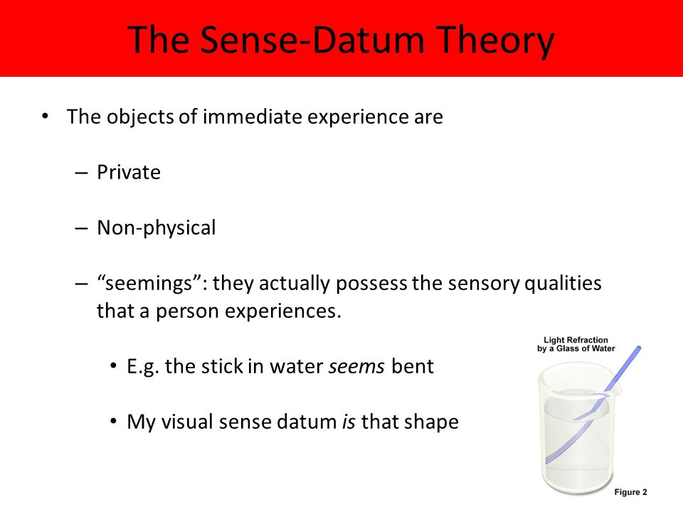 The Sense-Datum Theory