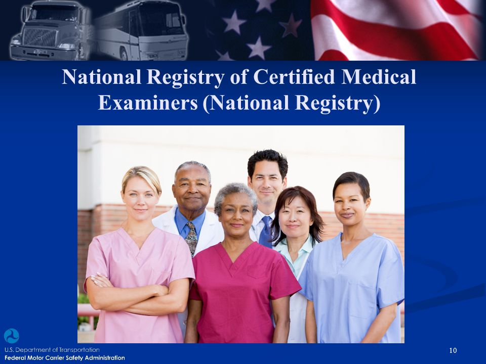 National Registry of Certified Medical Examiners (National Registry)