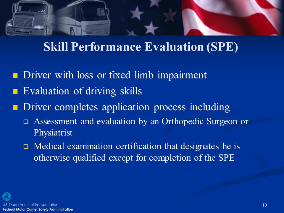 Skill Performance Evaluation (SPE)