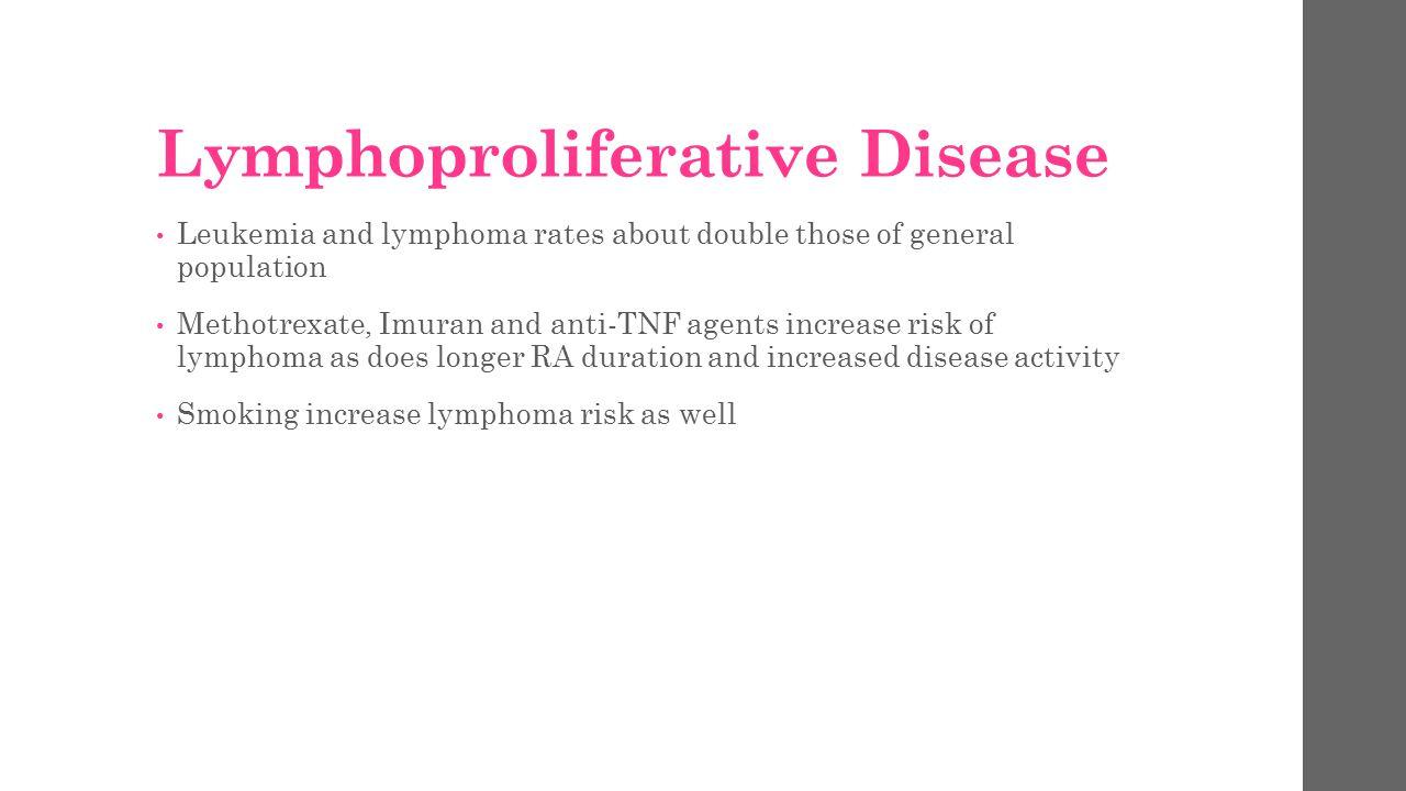 Lymphoproliferative Disease