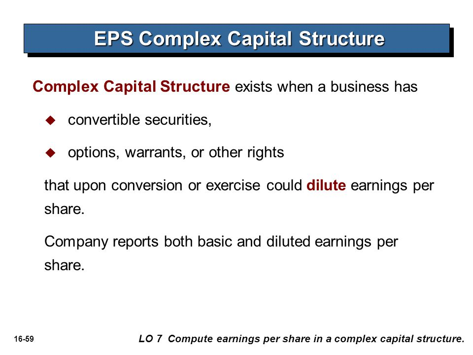 EPS Complex Capital Structure