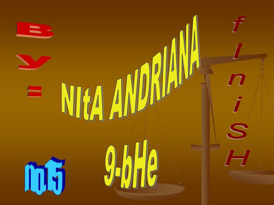 NItA ANDRIANA 9-bHe By: fIniSH no.15