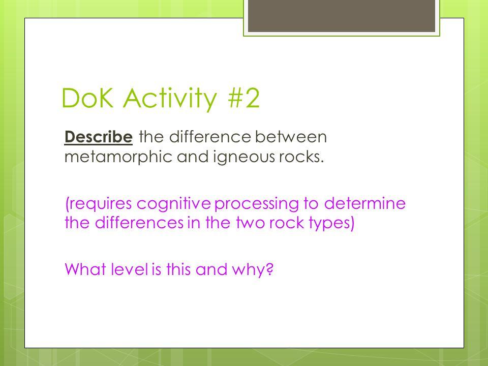 DoK Activity #2