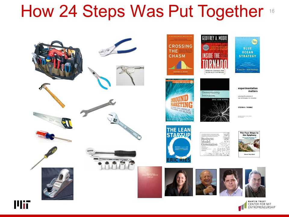How 24 Steps Was Put Together