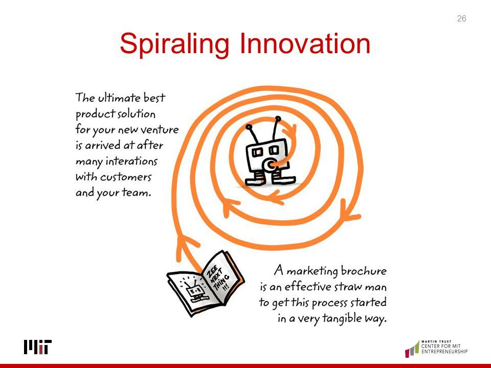 Spiraling Innovation