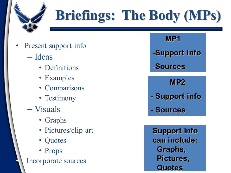 Briefings: The Body (MPs)