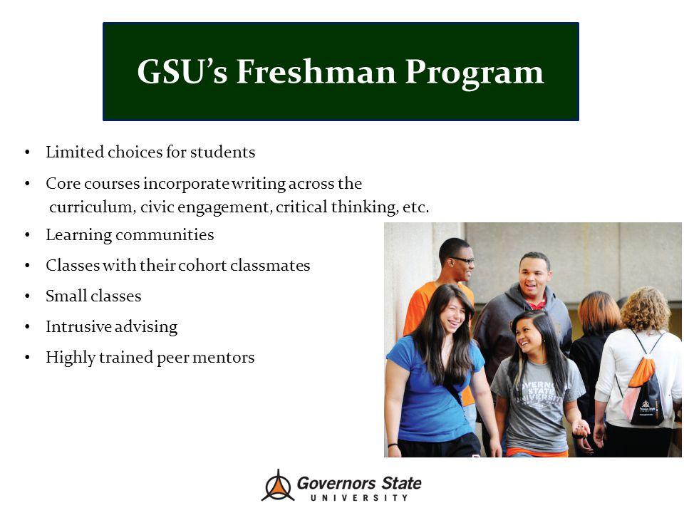 GSU's Freshman Program