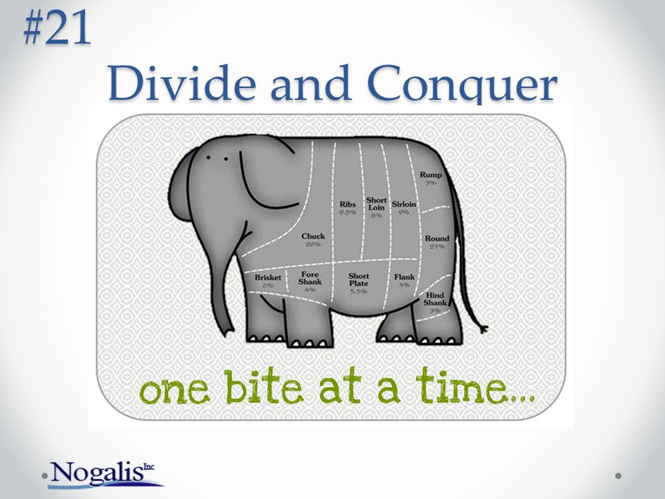 Divide and Conquer #21