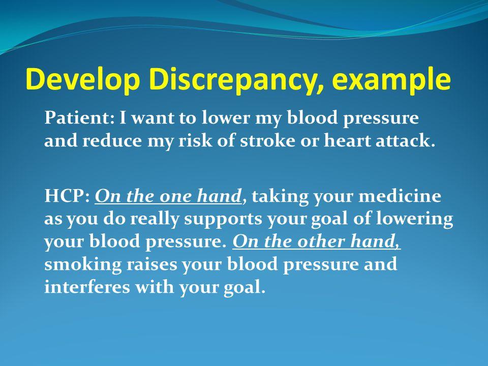 Develop Discrepancy, example