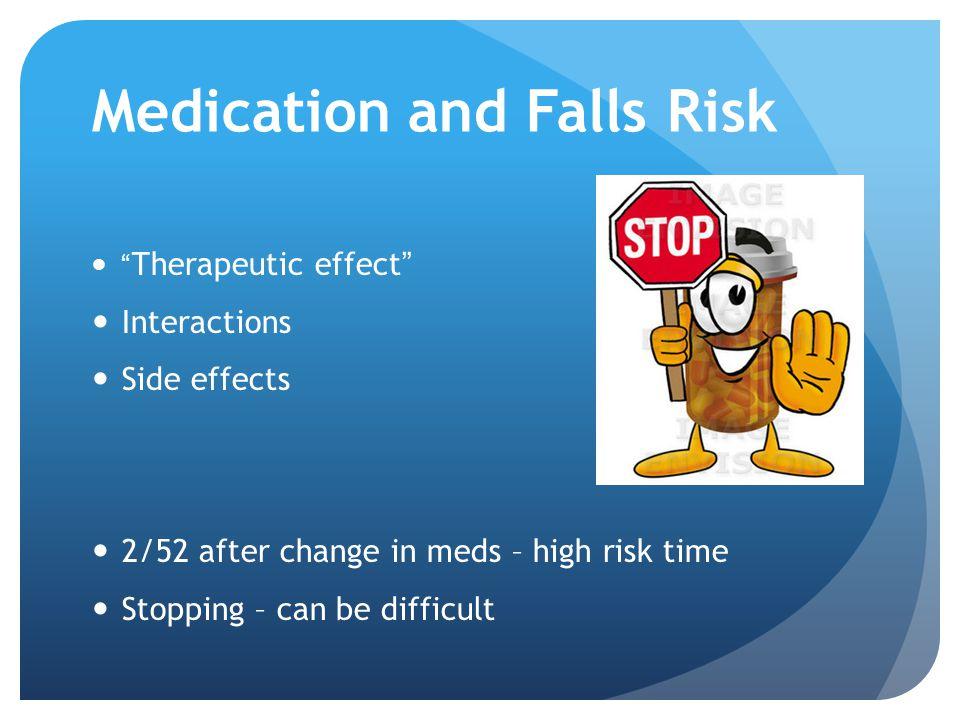 Medication and Falls Risk