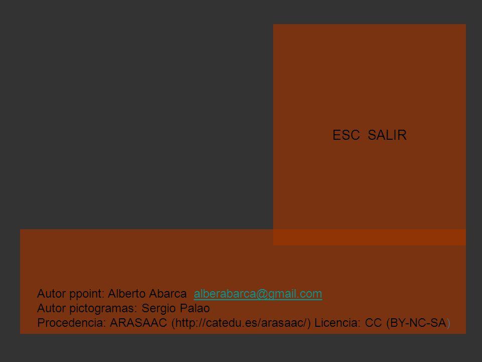 ESC SALIR Autor ppoint: Alberto Abarca alberabarca@gmail.com