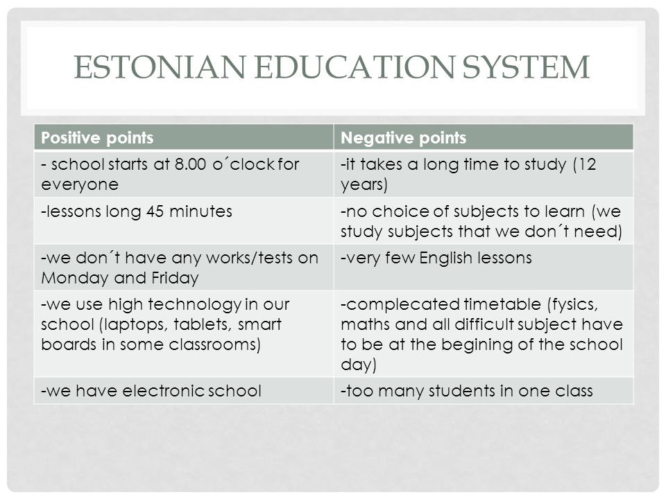 Estonian education system
