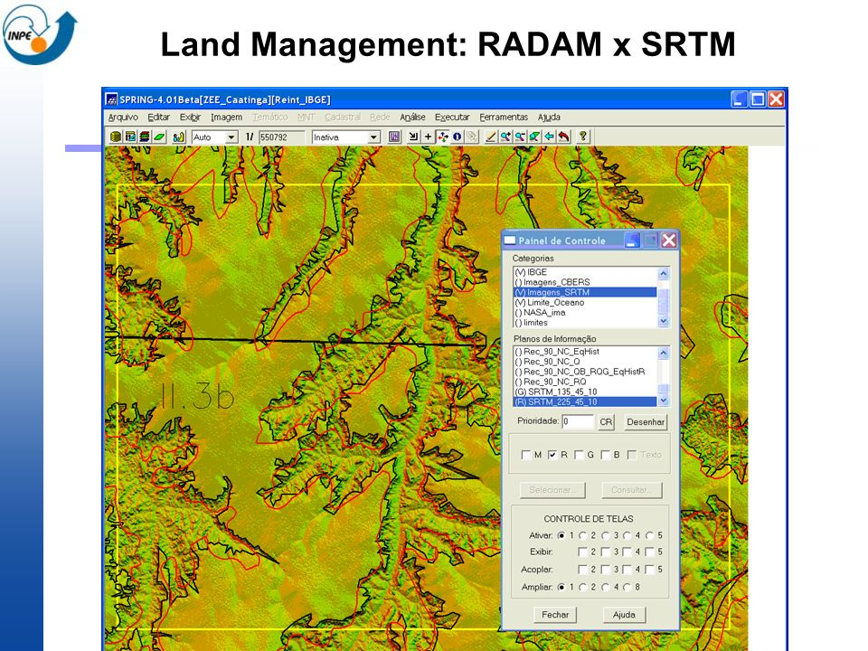 Land Management: RADAM x SRTM