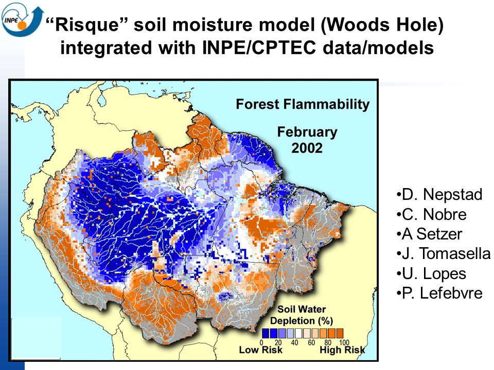 Risque soil moisture model (Woods Hole)