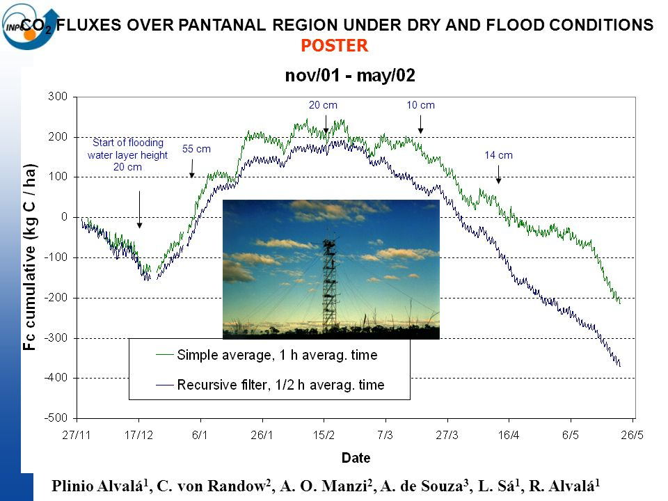 CO2 FLUXES OVER PANTANAL REGION UNDER DRY AND FLOOD CONDITIONS