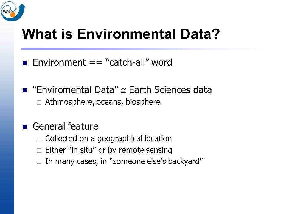 What is Environmental Data