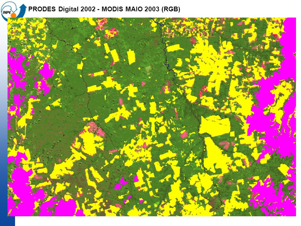 PRODES Digital 2002 - MODIS MAIO 2003 (RGB)