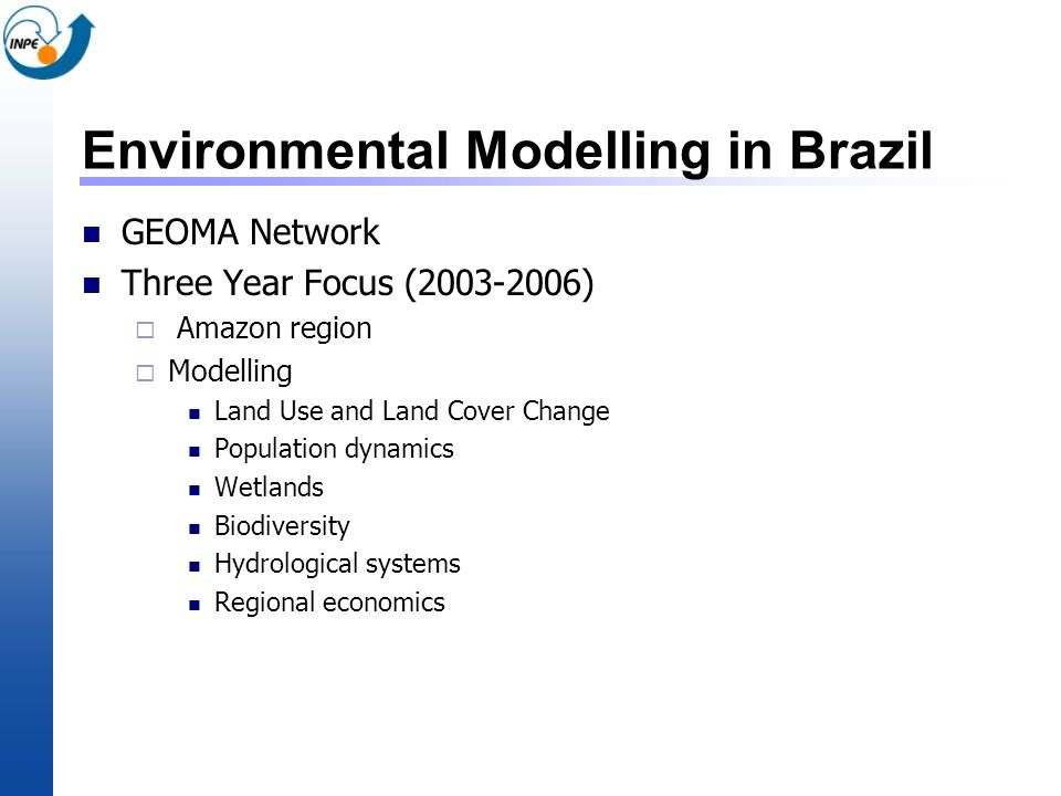 Environmental Modelling in Brazil