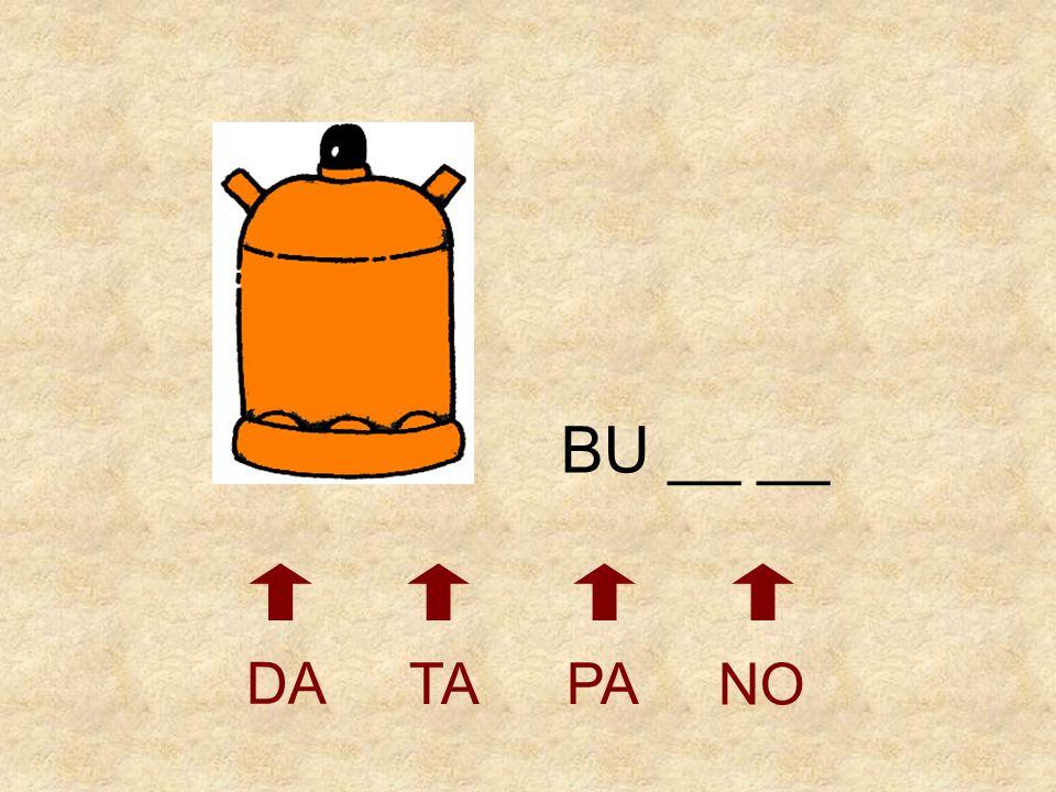 BU __ __ DA TA PA NO