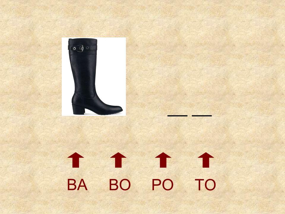 __ __ BA BO PO TO