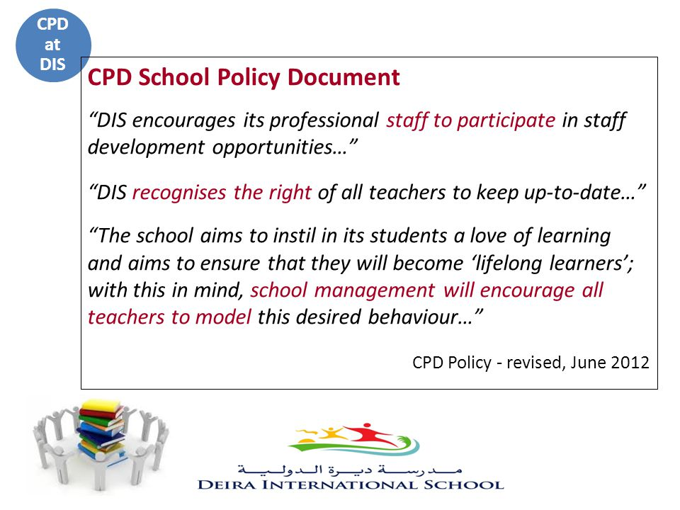 CPD School Policy Document