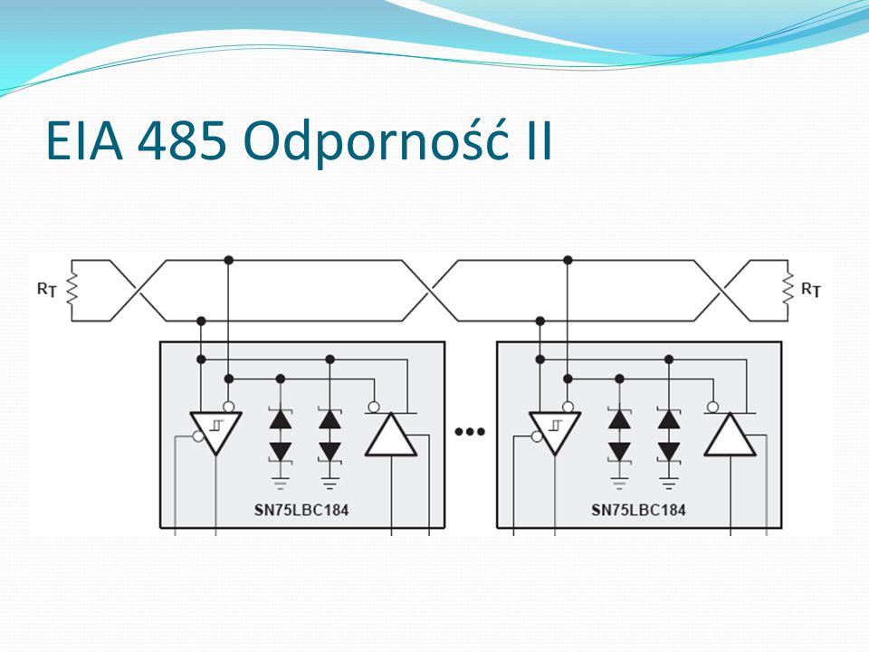 EIA 485 Odporność II