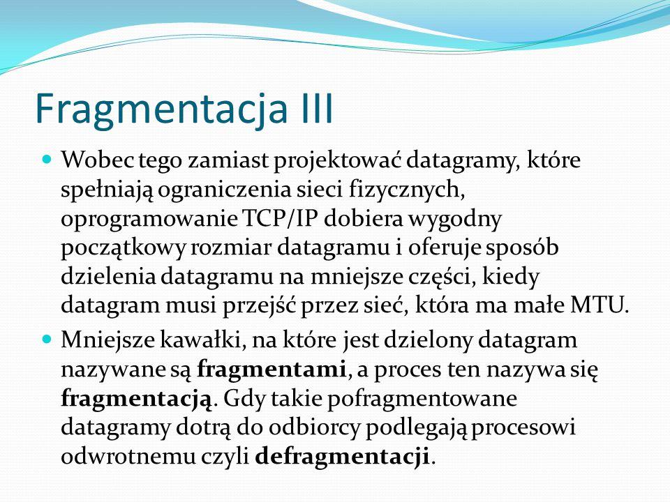 Fragmentacja III