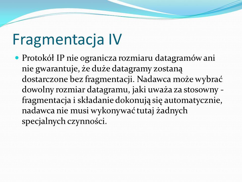Fragmentacja IV