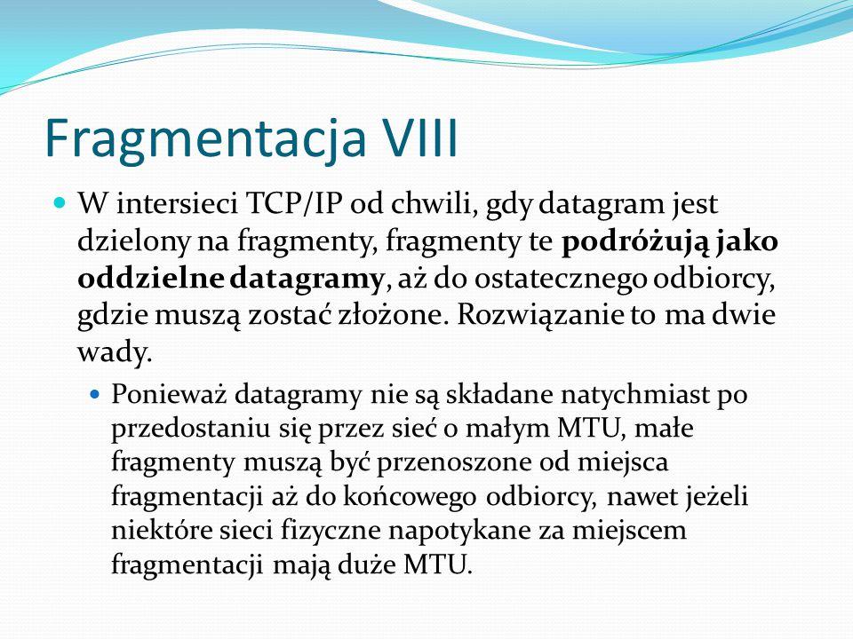 Fragmentacja VIII