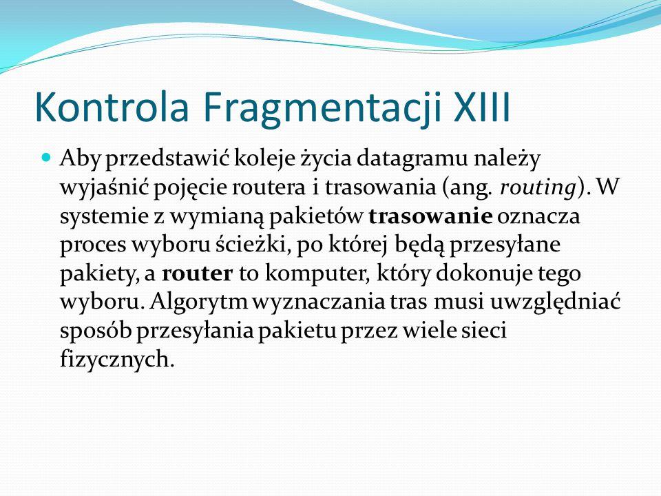 Kontrola Fragmentacji XIII