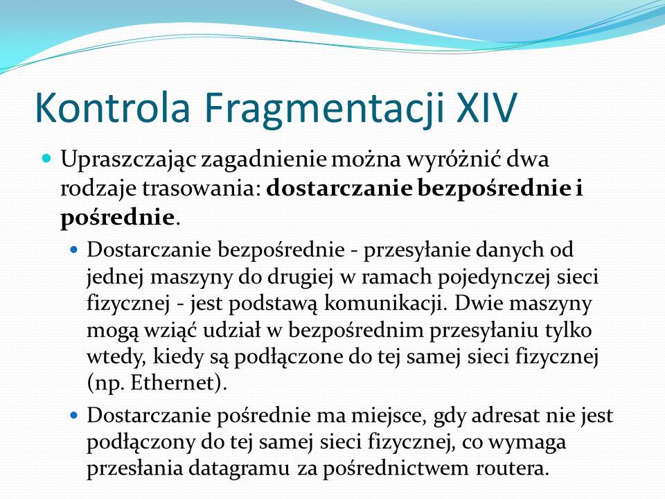 Kontrola Fragmentacji XIV