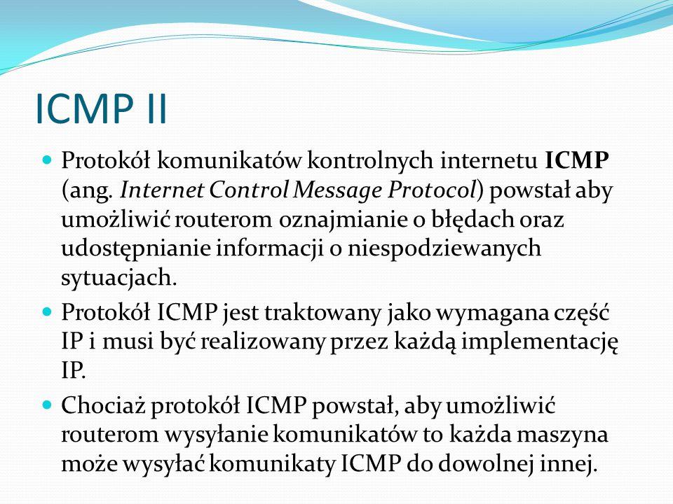 ICMP II
