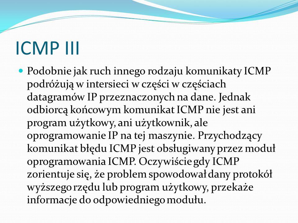 ICMP III