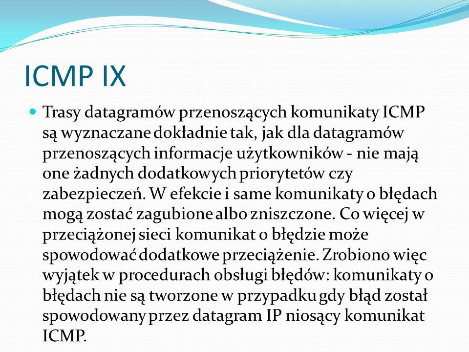 ICMP IX