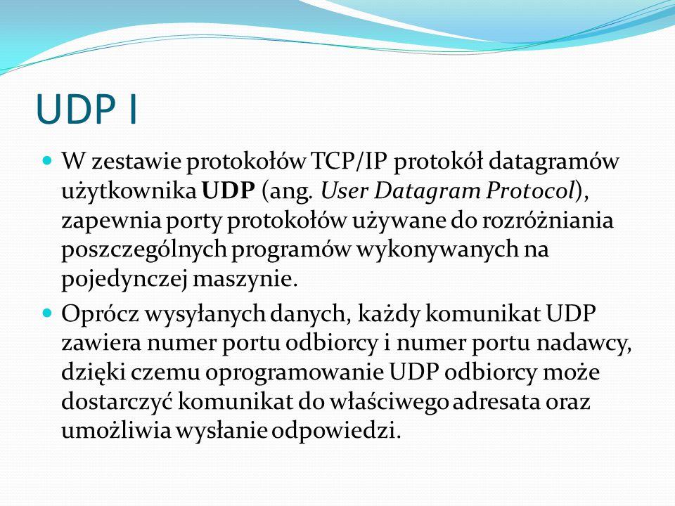 UDP I