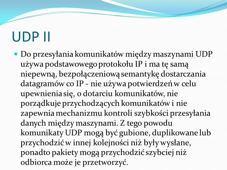UDP II