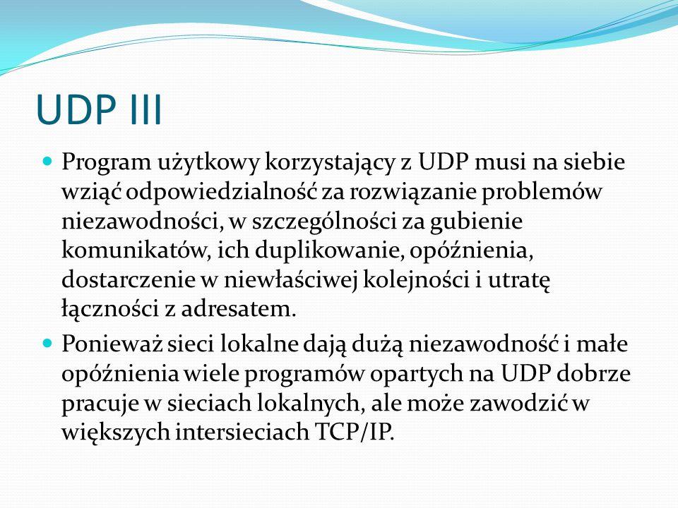 UDP III