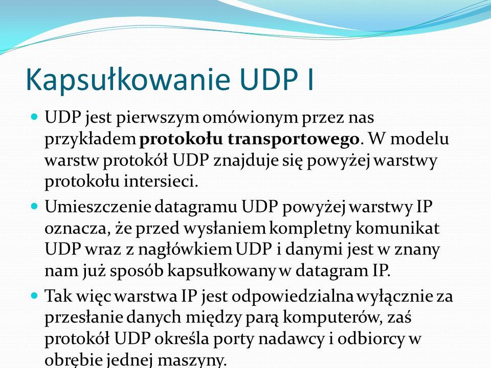 Kapsułkowanie UDP I
