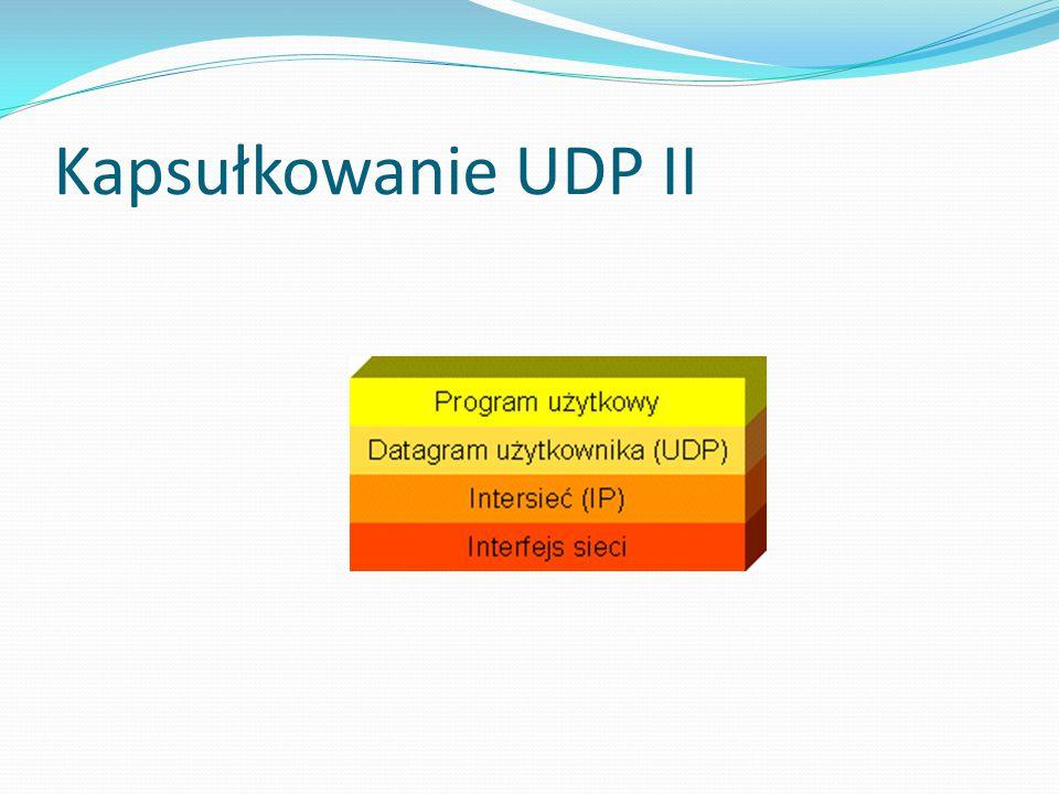 Kapsułkowanie UDP II