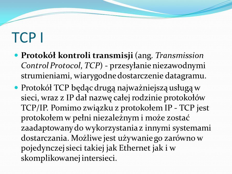 TCP I