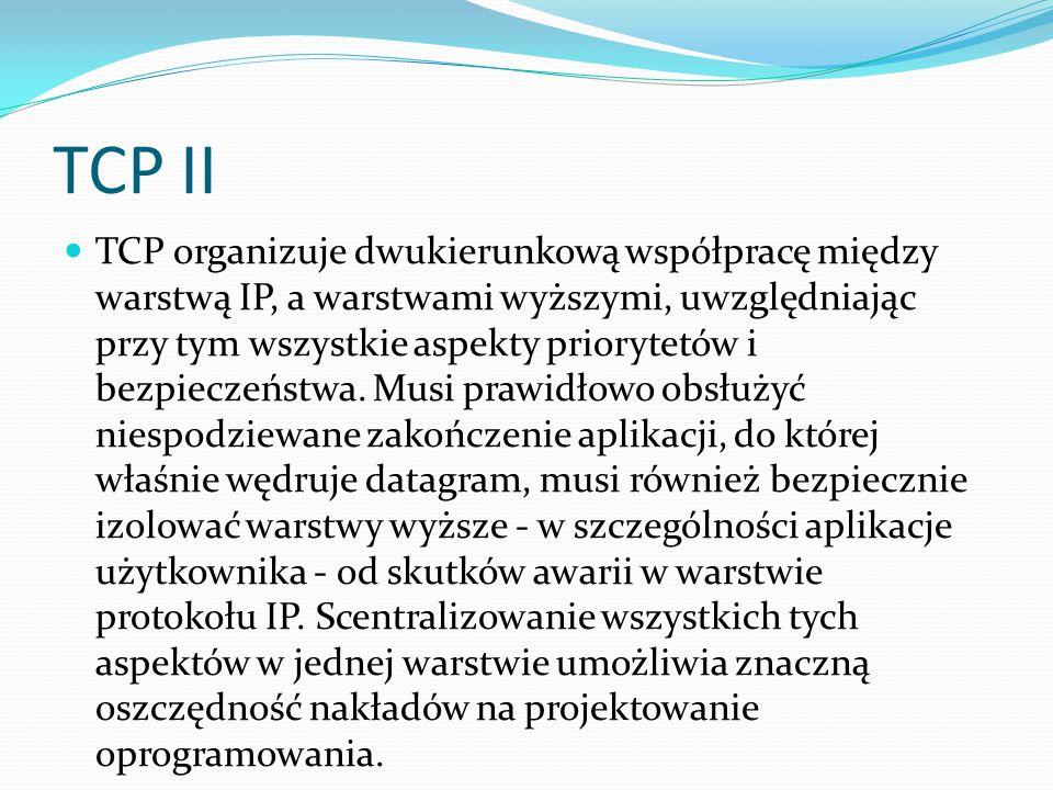 TCP II