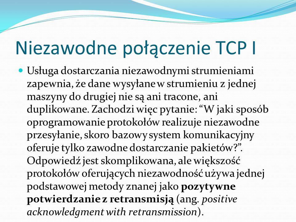 Niezawodne połączenie TCP I